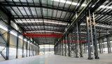 La parte superior del bastidor de acero Estructura de acero de la luz de la capacidad para el Taller de almacén