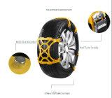 Correntes de pneu antiderrapantes da neve da segurança do carro