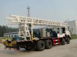 Plataformas de perforación rotatorias montadas carro Drilling del receptor de papel de agua de la profundidad los 600m