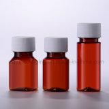 bottiglia farmaceutica di plastica dell'animale domestico della medicina 100ml con la protezione strappante