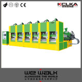 Material de EVA Sandálias de moldagem equipamento para máquina com marcação CE