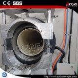 Hohe Effetive Belüftung-Rohr-Extruder-Maschine mit konischer Doppelschraube
