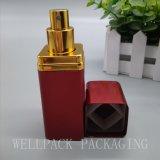高品質のアルミニウムシェル30ml 50mlが付いている正方形のガラス香水瓶