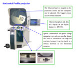 Rückbild-horizontaler Profil-Projektor (HB24)