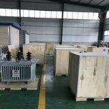 Trasformatore di olio montato Palo elettrico del materiale per distribuzione di energia