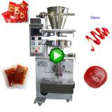 Macchina imballatrice di riempimento automatica di sigillamento dell'inserimento di pomodoro del sacchetto del ketchup della data