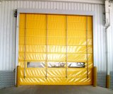 Rolar acima do PVC rápido do rolamento que empilha a porta do cabo flexível (Hz-ST0151)