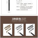3 cores, Balck, cinzas e lápis de sobrancelha do preço de fábrica de Brown