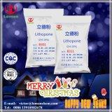 Fuente blanca del fabricante del litopón el 30% del pigmento de la fábrica de China