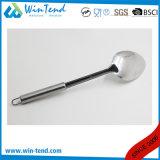 Cucchiaio all'ingrosso del riso della cucina dell'acciaio inossidabile con l'amo