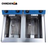 friteuse profonde électrique industrielle des doubles réservoirs 36L pour des poulets