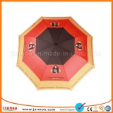 品質8のパネルの多色刷りのゴルフ傘