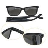 Dernière conception du châssis de PC unisexe Lunettes Les lunettes de soleil clair Décoration miroir