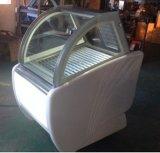 Congelatore commerciale della visualizzazione del Popsicle di caso di visualizzazione del gelato/gelato/della visualizzazione della torta gelato