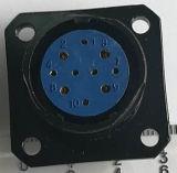 Ly2m-10はMultipole円コネクターをピンで止める
