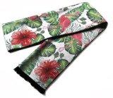 Custom напечатано вытянутые шелковые шарфы