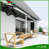 Las luces solares inteligente Lampara de pared con doble iluminación