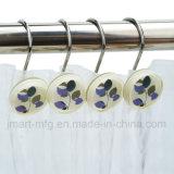 Effacer les crochets de douche double couches en résine peinte à la main avec des lames