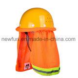 De weerspiegelende Hoed van de Veiligheid van de Dekking van de Helm Weerspiegelende