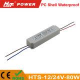 driver dell'alimentazione elettrica di 12V/24V 60W 72W 75W 80W LED LED