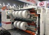 Comando PLC Cortador rebobinador para filme plástico com 400 m/min