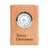 Nouvelle arrivée Hot Ventes carré moderne en bois coloré horloge Bamboo Pen conteneur