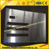 Perfil de alumínio industrial com processamento do CNC
