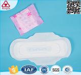 女性のための厚いタイプ綿の物質的な生理用ナプキンは日夜使用する