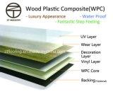 Hölzerne zusammengesetzte (WPC) Bodenbelag-Plastikeiche klassischer Brown natürlich