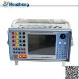 Hzjd-6 tester del sistema di relè di protezione della sottostazione del microcomputer di 6 fasi