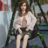165cm sexo realista sólido Doll brinquedo sexual Real Girl Doll plena vida Silicone Médias Sexo Real Doll para homem