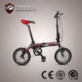 Складывая велосипед велосипед тормоз рамки v сплава 14 дюймов