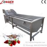 Machine à laver les fruits légumes industriels pour la vente de lave-glace