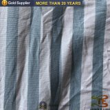 100%년 폴리에스테 싼 줄무늬 털실에 의하여 염색되는 넓은 폭 병상 장 직물