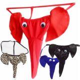 2018 новых Sexy мужчин G-строк Thongs скачок слонов чехол мужчин эластичные T назад эротических белье Тхонг скачок мужчин чехол нижнее белье