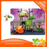 O parque de diversões interessantes para bebés Playhouse exterior de plástico