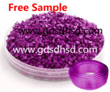 Blauer Farbe Masterbatch Gebrauch für Plastikfrucht-Platten-Tellersegment-Filterglocke