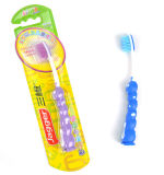Enfant brosse à dents à poils doux Stand avec Sucker brosse à dents de bébé