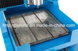 Fraisage en aluminium de commande numérique par ordinateur d'en cuivre en métal et machine de gravure