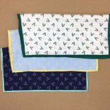 Fazzoletto Pocket stampato all'ingrosso di seta di 100% per gli uomini