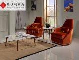 Table basse de luxe de salle de séjour de Morden avec le dessus de marbre de nature