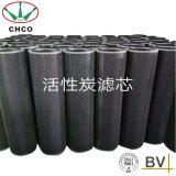 Cartouche filtrante de charbon actif fabriquée en Chine