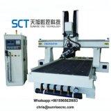 1325 Atc Router CNC 4 rebajadora CNC de ejes de la máquina para muebles de la puerta