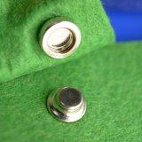 Новый стиль моды Siliver металлические кнопки совмещения