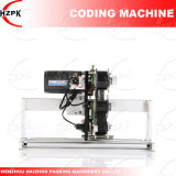 Cinta de opciones de la máquina de codificación/máquina de estampado para la fecha el número de lote de China