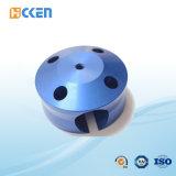 頑丈な装置の部品を機械で造るカスタム青い絵画ステンレス鋼CNC