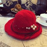 Chapeau personnalisé coloré causal de dames de coton