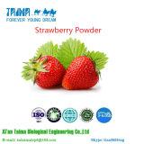 100% reines natürliches organisches Erdbeere-Puder, Qualitäts-Erdbeere-Puder