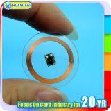 Industrielle transparente LF 125kHz TK4100 RFID Platten-Marke Belüftung-