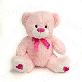 Мягкие игрушки несут в День Святого Валентина с вышивкой частоты сердечных сокращений